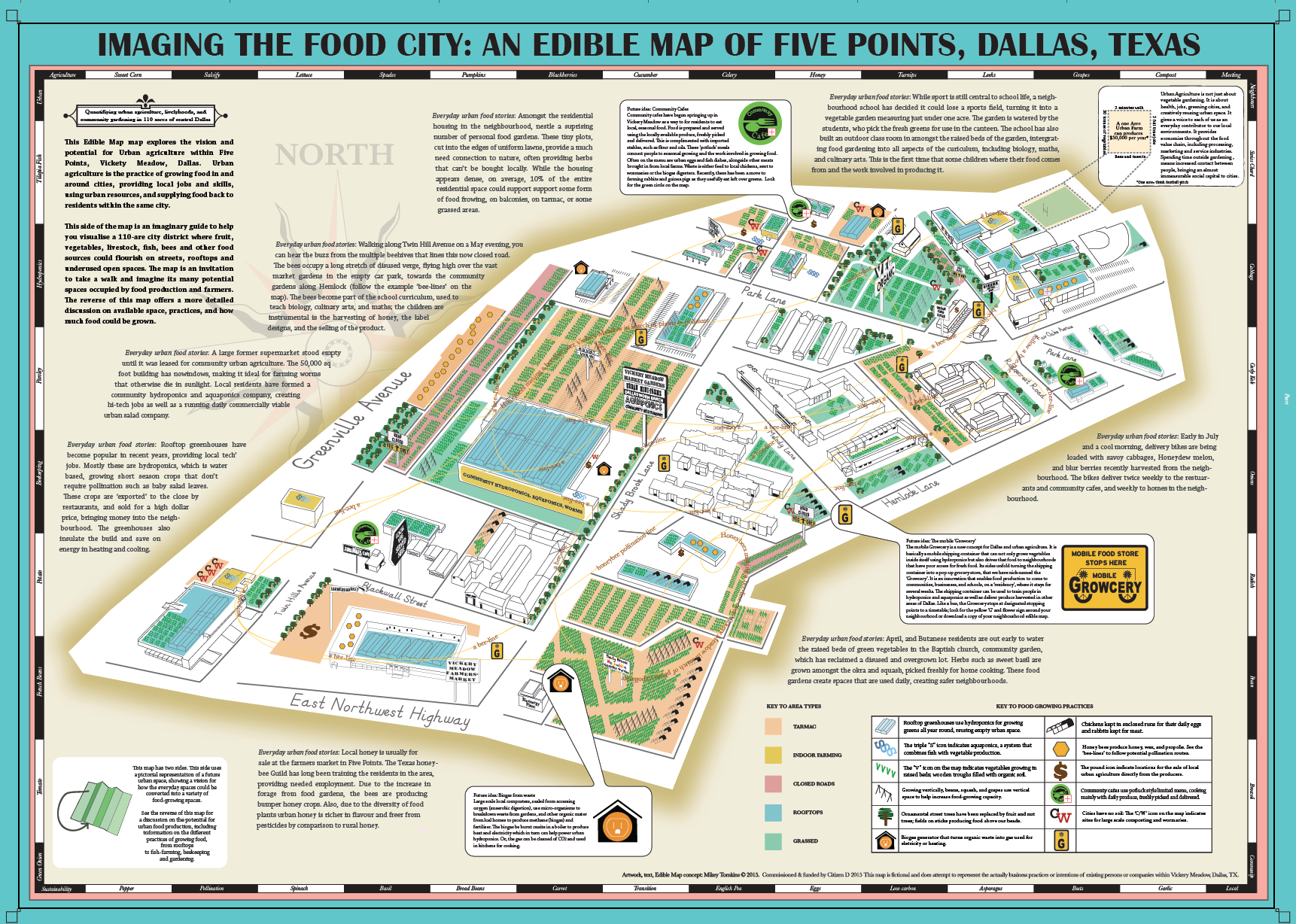 Edible Map of Dallas