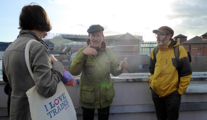 Edible Map walk, Newcastle May 2015
