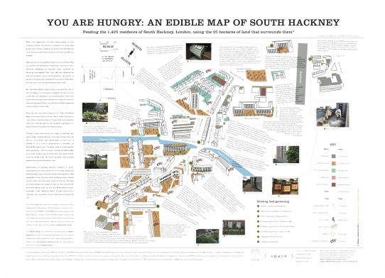 Edible Hackney Map