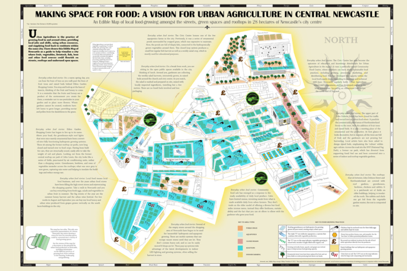 Newcastle Edible Map