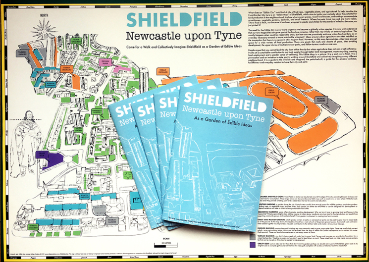 Shieldfield maps folded small