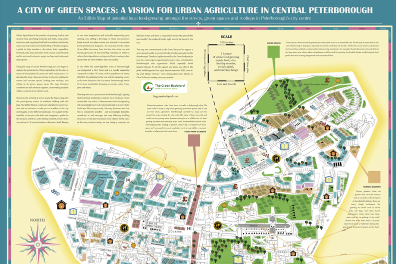 Peterborough Edible Map